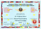 EMFV Militär-Sanitäts-Fallschirmsprungabzeichen