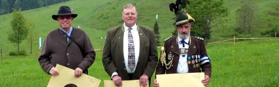 Historisches Vorderladerschiessen in Bayrischzell am 23.05.2015