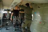Einweisung in die Absetzmaschine Skyvan SC 7