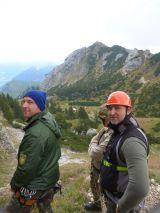 Im Hintergrund ist das Wildalpjoch 1720 m
