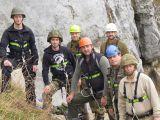 Die Klettergruppe ist bereit