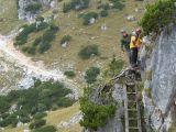 Toni und Reinhold holt die Klettergruppe ab