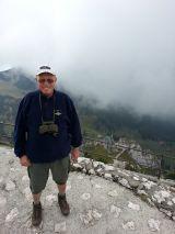 Adi auf dem Gipfel des Wendelstein -1838 m-