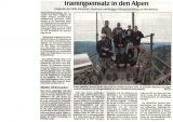 Pressebericht Mountaintraining