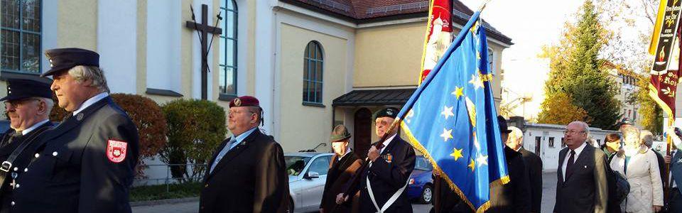 165zig Jahrfeier der Krieger- und Soldatenkameradschaft Rosenheim am 24.10.2015