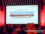 Neujahrsempfang der Stadt Rosenheim am 19.01.2016