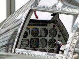 Das Cockpit der Lightning P 38