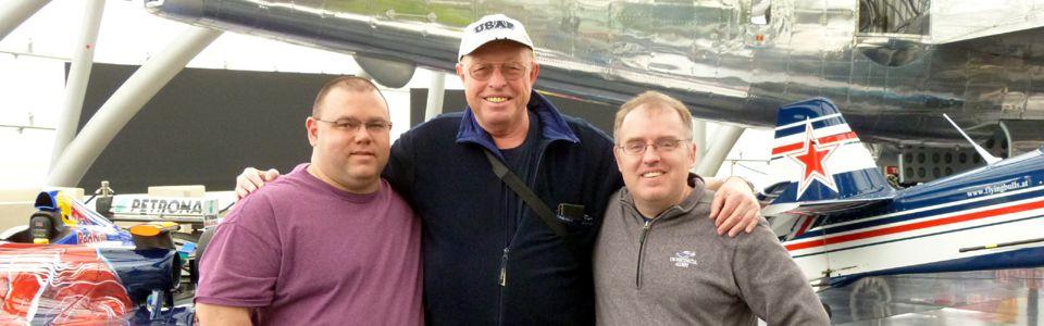 Besuch von zwei Offizieren der US Civil Air Patrol am 25.04.2016