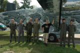 Gruppenfoto vor der SC 7
