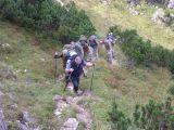 Aufstieg zum 1.Klettergebiet