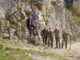 Gruppenbild der Klettergruppe