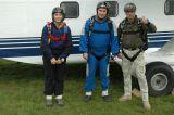 Amelie, Thomas und Martin sind ready to jump
