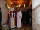 Ehrenamtlicher Nikolausbesuch mit Engel Sandra