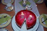 Eine der Geburtstagstorten
