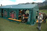 Ein kleines Festzelt wurde auch aufgebaut