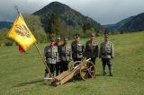 Das Gruppenbild der Kaiserjäger-Gebirgsartillerie