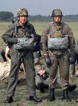 Springen bei einer russischen Spezialeinheit