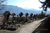 Der idyllische Bergfriedhof in Kiefersfelden